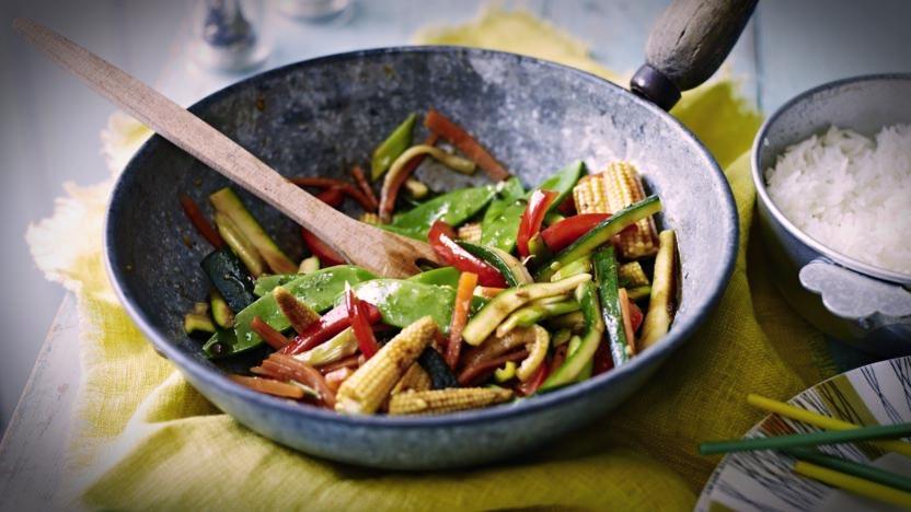 Wok de légumes sautés: la recette inratable