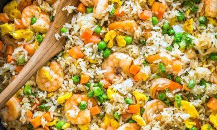 Riz sauté aux crevettes: la recette authentique